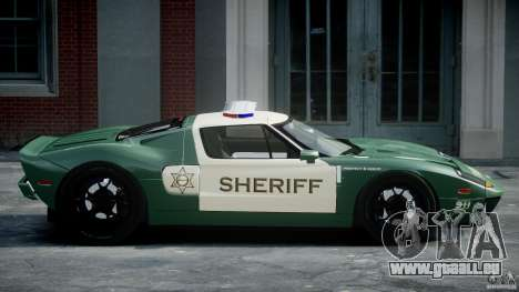 Ford GT1000 Hennessey Police 2006 [EPM][ELS] für GTA 4 linke Ansicht