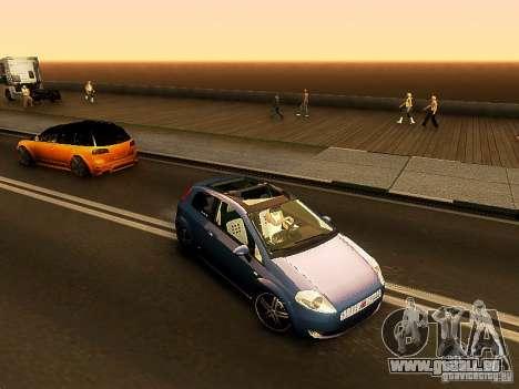 Fiat Punto Multijet für GTA San Andreas linke Ansicht
