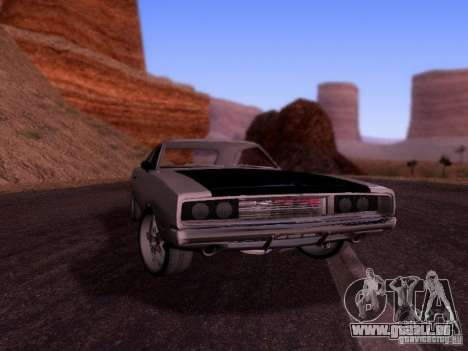 Dodge Charger 1970 Fast Five für GTA San Andreas