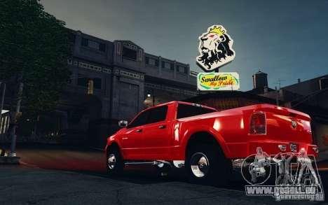 Dodge Ram 3500 Stock Final für GTA 4 hinten links Ansicht