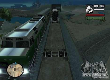 Aktivierung (neue Routen für Züge) für GTA San Andreas linke Ansicht