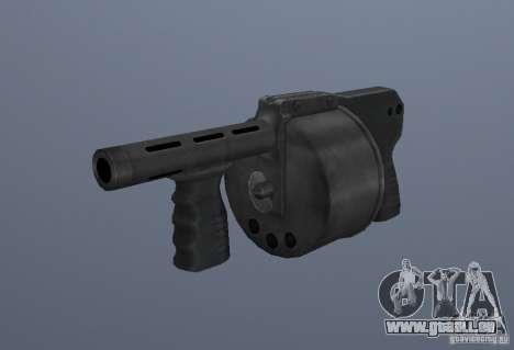 Grims weapon pack3 pour GTA San Andreas douzième écran