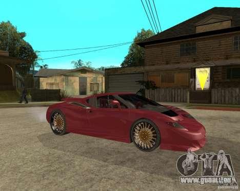 B-Engineering Edonis für GTA San Andreas rechten Ansicht