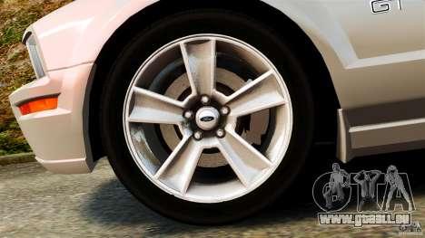 Ford Mustang GT 2005 pour GTA 4 est une vue de l'intérieur