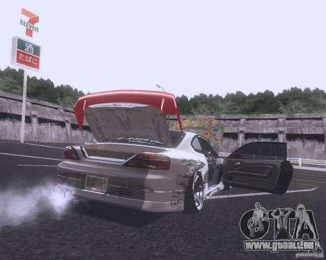 Nissan Silvia S15 Street pour GTA San Andreas vue arrière