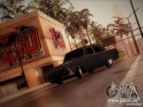 Moskvich 412 für GTA San Andreas Rückansicht