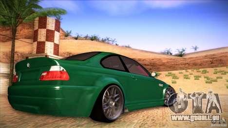 BMW E46 Drift II pour GTA San Andreas laissé vue