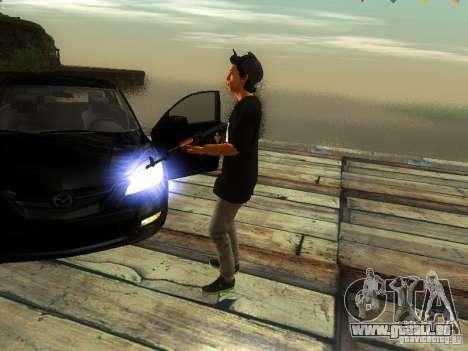 Garçon au FBI pour GTA San Andreas troisième écran