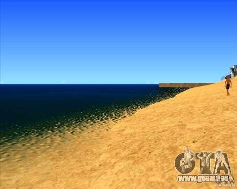 Cadre magnifique ENBSeries pour GTA San Andreas deuxième écran