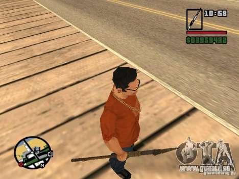 Speer für GTA San Andreas her Screenshot
