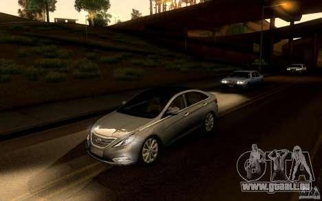 Hyundai Sonata 2011 pour GTA San Andreas vue de droite