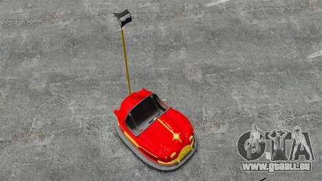 Autoscooter für GTA 4 rechte Ansicht