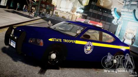 Dodge Charger NY State Trooper CHGR-V2.1M [ELS] für GTA 4