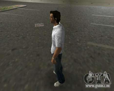 Weißes Hemd für GTA Vice City zweiten Screenshot