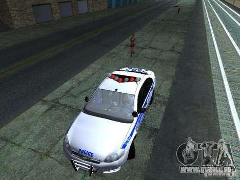 Chevrolet Impala NYPD für GTA San Andreas Seitenansicht