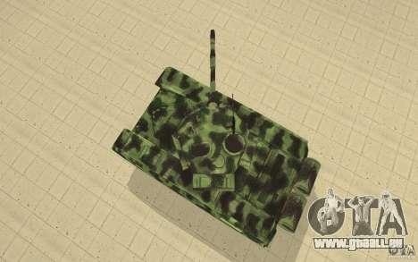 Char T-72 pour GTA San Andreas vue de droite