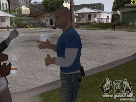 Vin Diesel pour GTA San Andreas