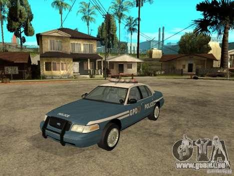 2003 Ford Crown Victoria Gotham City Police Unit für GTA San Andreas