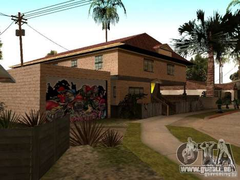 Neue Startseite Cj für GTA San Andreas dritten Screenshot