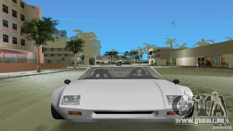 De Tomaso Pantera für GTA Vice City zurück linke Ansicht