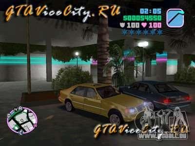 Mercedes-Benz S600 W140 für GTA Vice City