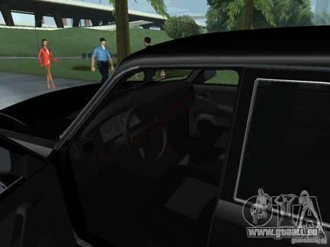 GAZ Wolga 31105 für GTA San Andreas Rückansicht