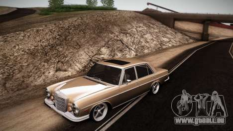 Mercedes Benz 300 SEL - Custom RC3D Edit für GTA San Andreas linke Ansicht