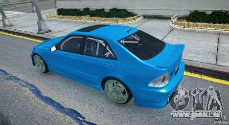 Toyota Altezza pour GTA 4 est un droit