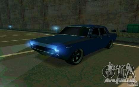 GAZ Volga 24 v2 (version bêta) pour GTA San Andreas