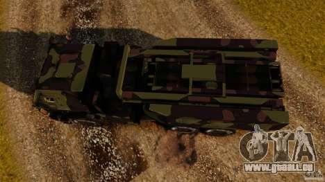 M142 HIMARS für GTA 4 rechte Ansicht