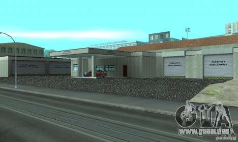 Johnsons Business (Johnsons Auto Service) pour GTA San Andreas