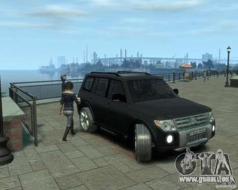 Mitsubishi Pajero für GTA 4 linke Ansicht