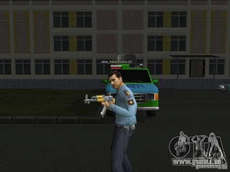 Peaux de milice pour GTA San Andreas deuxième écran