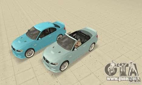 BMW M3 2008 Hamann v1.2 für GTA San Andreas zurück linke Ansicht
