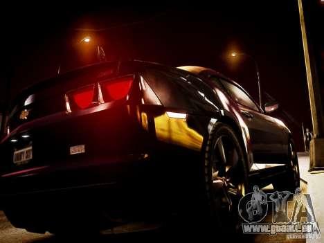 Chevrolet Camaro SS 2010 pour GTA 4 est une gauche