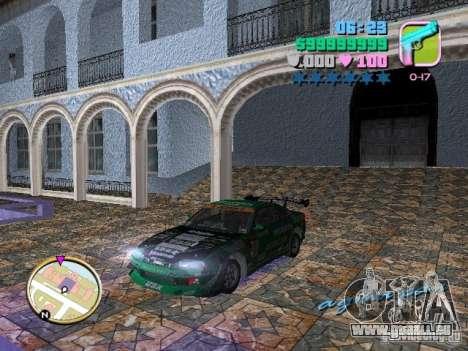 Nissan Silvia S15 Kei Office D1GP pour GTA Vice City
