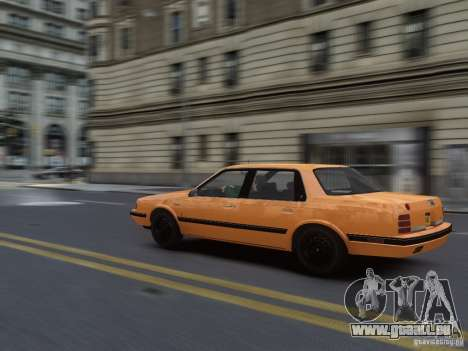 Oldsmobile Cutlass Ciera 1993 pour GTA 4 est une vue de l'intérieur