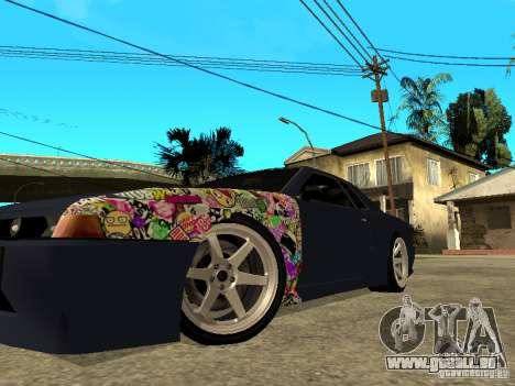 Elegy JDM pour GTA San Andreas sur la vue arrière gauche