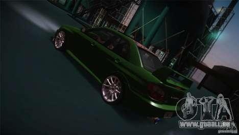 Subaru Impreza WRX STi pour GTA San Andreas moteur