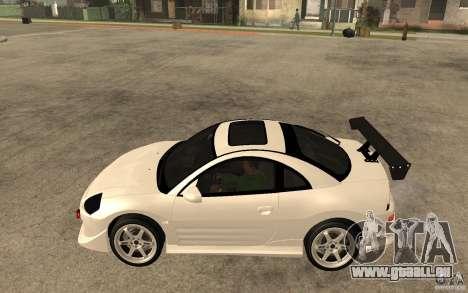 Mitsubishi Eclipse 2003 V1.5 pour GTA San Andreas laissé vue
