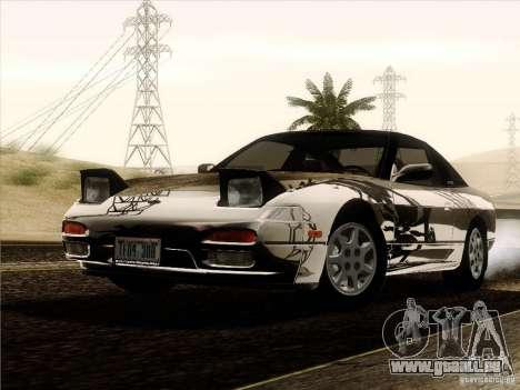 Nissan 240SX S13 - Stock für GTA San Andreas Unteransicht