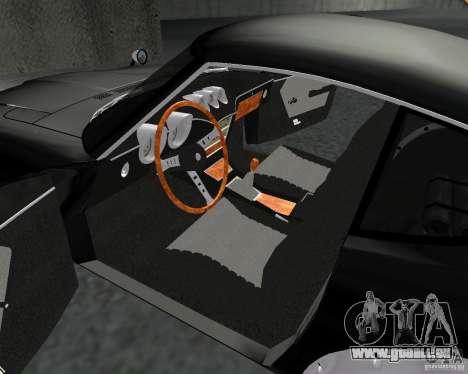 Nissan  Fairlady 240ZG pour GTA San Andreas vue intérieure