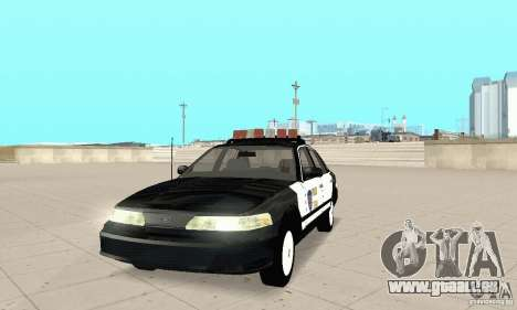Ford Taurus 1992 Police pour GTA San Andreas
