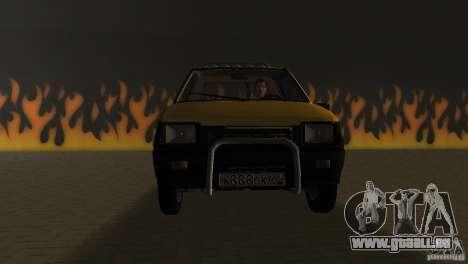 SeAZ Pickup pour GTA Vice City vue arrière