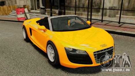 Audi R8 Spyder für GTA 4