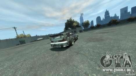 Toyota Soarer Tokage Crew pour GTA 4 Vue arrière de la gauche