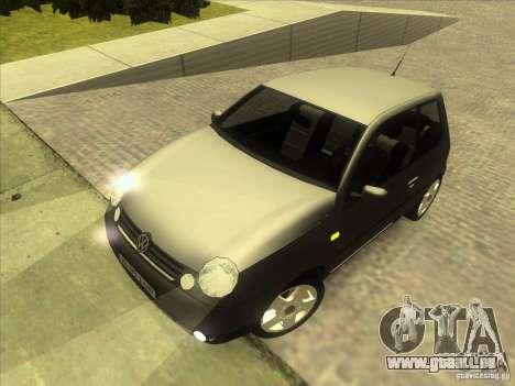 Volkswagen Lupo pour GTA San Andreas vue de dessus