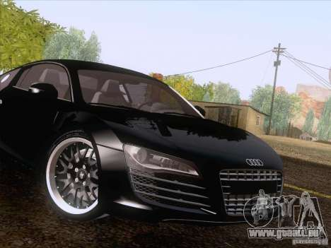 Audi R8 Hamann für GTA San Andreas obere Ansicht