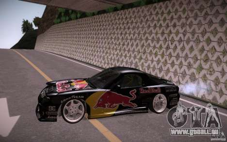 Mazda RX7 Madmikes Redbull für GTA San Andreas linke Ansicht