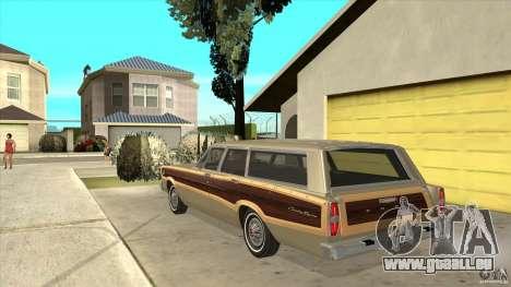 Ford Country Squire 1966 pour GTA San Andreas sur la vue arrière gauche